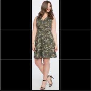 Eloquii Camo Dress